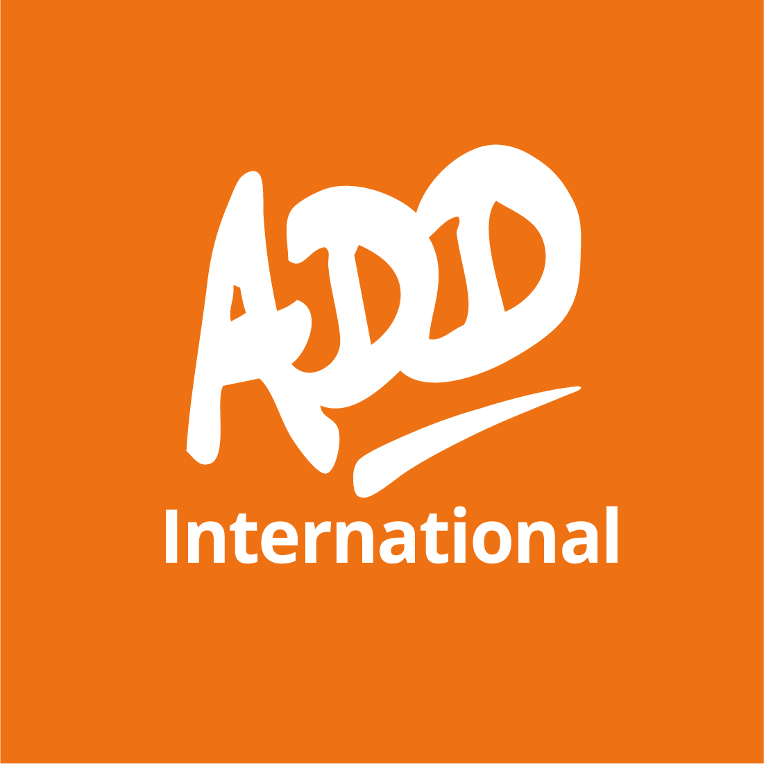 ADD International logo home