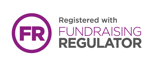 Registered with Fundraiser Regulator