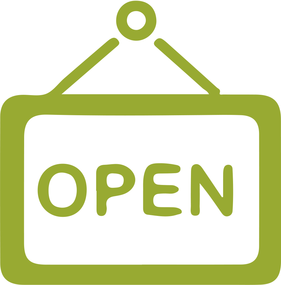Shop 'Open' Sign Icon