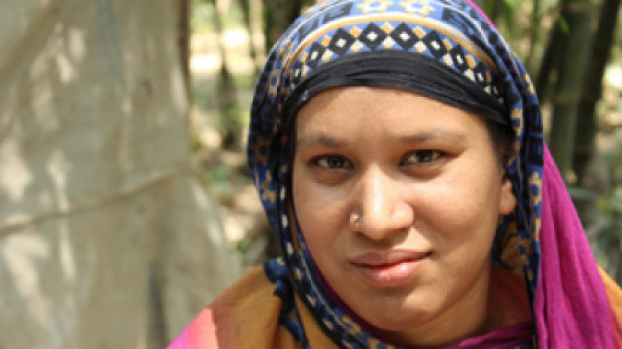 Disability activist in Bangladesh