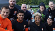 Tough mudder, group of people