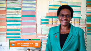 An Education Officer in Tanzania