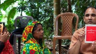 A self-help group meeting in rural Bangaldesh