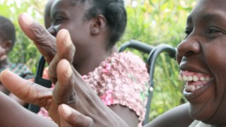 Disability activists in Uganda